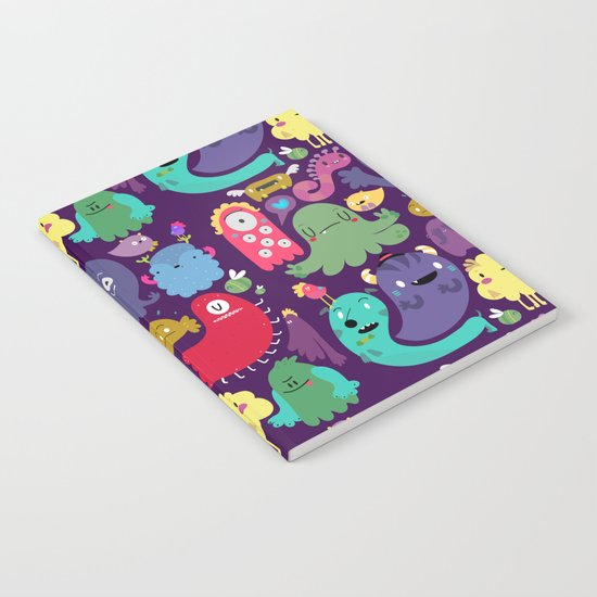 Colorful creatures Notebook