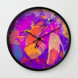 Funky Party Wall Clock