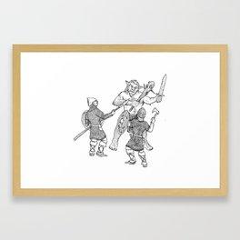 Bugbear Battle Framed Art Print
