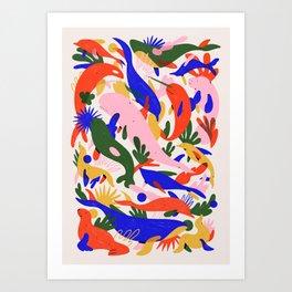 Whales Vertical Art Print