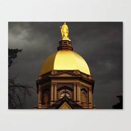 Golden Dome  Canvas Print