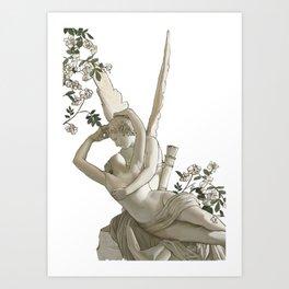 cupid and psyche 2 Art Print