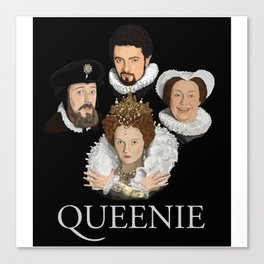 """Queenie"" Canvas Print"