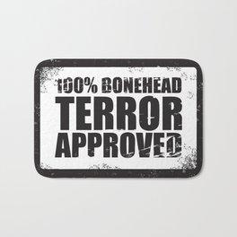 100% Bonehead Terror Approved! Bath Mat