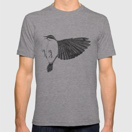 kung-fu nuthatch T-shirt