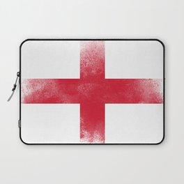 England flag isolated Laptop Sleeve