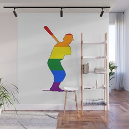 Rainbow Batter Wall Mural