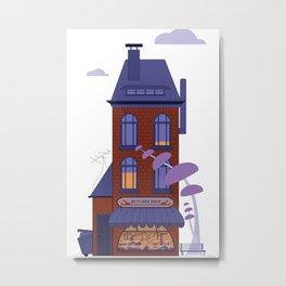 House Of Rabbits II Metal Print