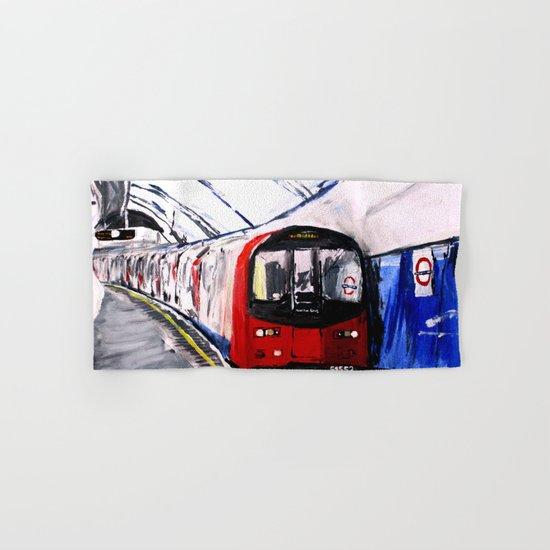 London Underground Northern Line Fine Art Hand & Bath Towel