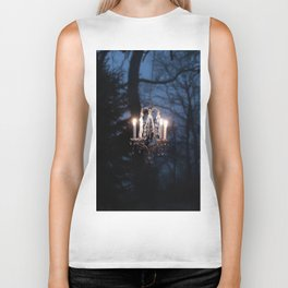 Chandelier in the Wild Biker Tank