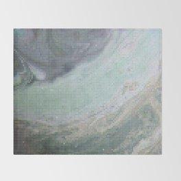 Saturn Infrared Throw Blanket