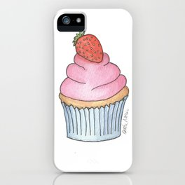 C is for Cupcake iPhone Case