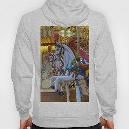 Vintage Carousel Horses Hoody