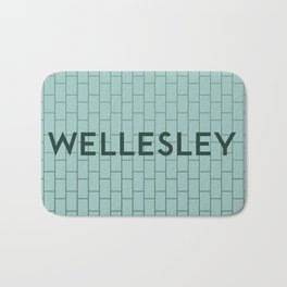 WELLESLEY | Subway Station Bath Mat