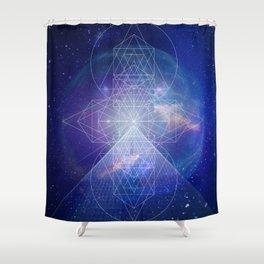 GEOMATRIX 2 Shower Curtain