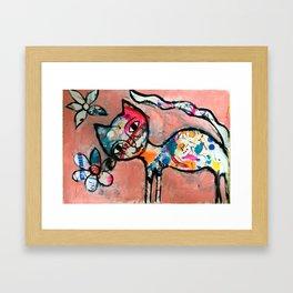 Pussycat 1 Framed Art Print