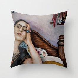 Despierta Corazon Dormido (Wake Up Sleeping Heart) Throw Pillow