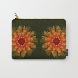 Artistic fantasy succulent flower Carry-All Pouch