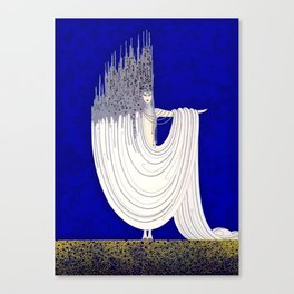 """North Sea"" Art Deco Design Canvas Print"