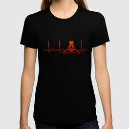 Massage Therapist Heartbeat T-shirt