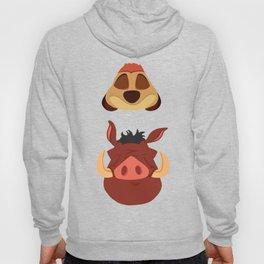 Timon and Pumbaa Hoody