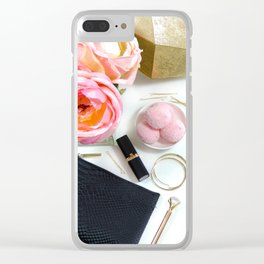 Hues of Design - 1031 Clear iPhone Case
