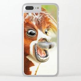 jorge Clear iPhone Case