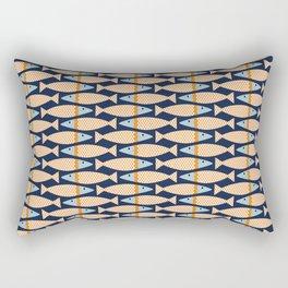 Scalloped Bass Rectangular Pillow