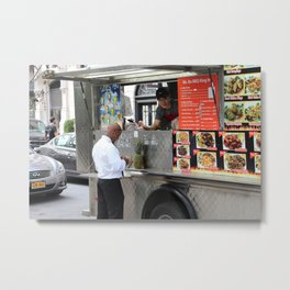 Restaurants are a thing of the past! Metal Print