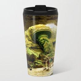 Journey to Lady Liberty Metal Travel Mug