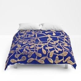 Mistletoe Blue Comforters