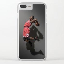 """I wanna go higher"" Clear iPhone Case"