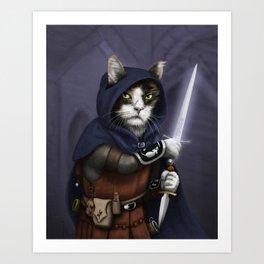Rogue Cat Art Print