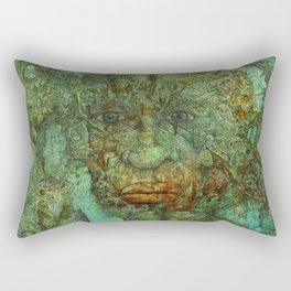 Resignation Rectangular Pillow