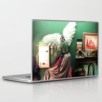 shopping Laptop & iPad Skins featuring Shopping window by BACK to THE ROOTS