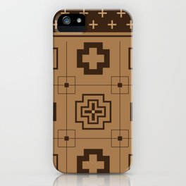The Directions (Brown) iPhone Case