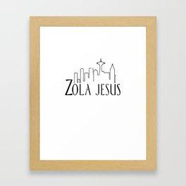 ZJ Framed Art Print
