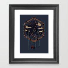 The Dark Woods Framed Art Print