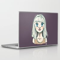 chandelier Laptop & iPad Skins featuring Chandelier by Jessi's Art