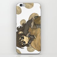 kili iPhone & iPod Skins featuring Kili&Walnut by AlyTheKitten