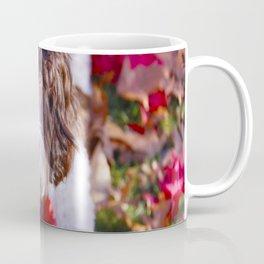 Labradoodle In Autumn Coffee Mug