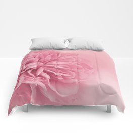 Light Pink Rose #1 #floral #art #society6 Comforters