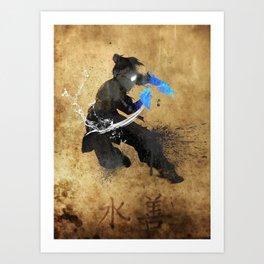 Get Bent :: Water Art Print