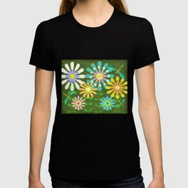 In The Garden Among The Flowers T-shirt