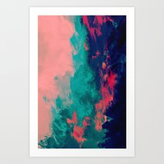 Painted Clouds IV Art Print