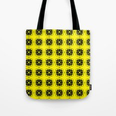 Yellow Custom Pattern Tote Bag