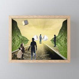 Warm Meeting  Framed Mini Art Print