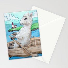 Sheepinarowboat Stationery Cards