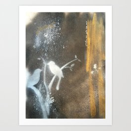 and this night was magical Art Print