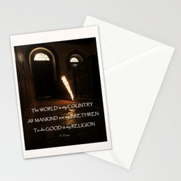 Church of Humanity Inspirational Stationery Cards